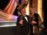 Ron and Lencsi at Emmy Awards