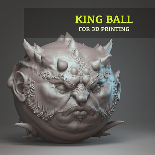 King Ball for 3D printing