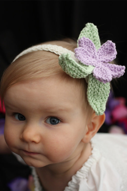 Flowered Baby Headbands