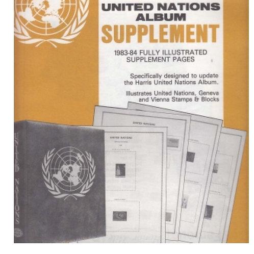 UN-77:1977 Harris United Nations Album Supplement