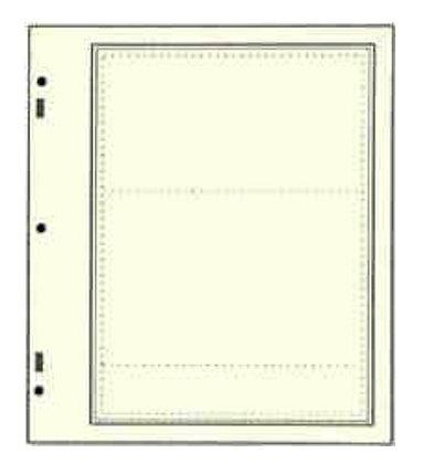 SN-AD112   Advantage stock sheet 2 strips per page-Scott Nat'l Album