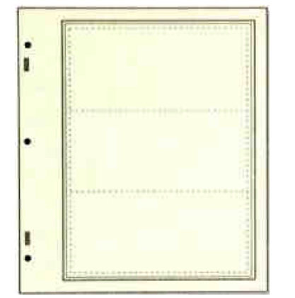 SN-AD113 Advantage stock sheet 3 strips per page-Scott Nat'l Album