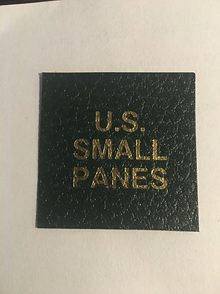 """LB-111""""U.S. Small Panes"""" label for Scott Specialty binders"""