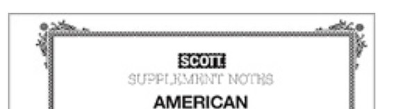 SAM-2009 Scott American Album Supplement #70