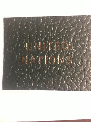 "LB-061	""United Nations"" label for Scott Specialty binders"