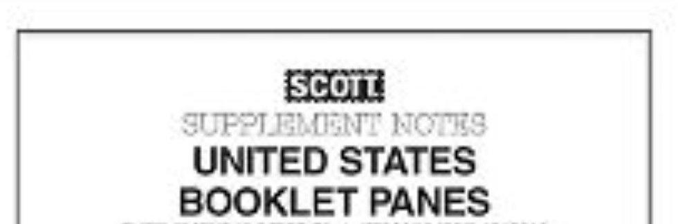 BP-18 2018 Scott U.S. National Booklet Pane Supplement #80