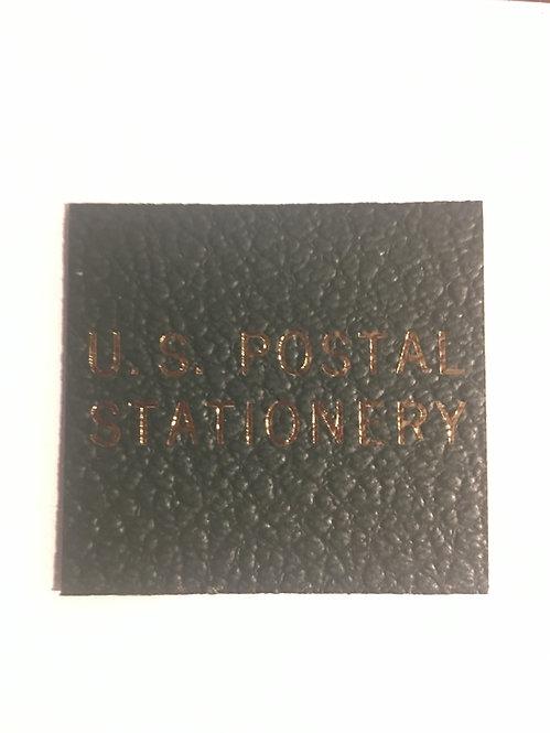"LB-081   ""U.S. Postal Stationery"" label for Scott binders"