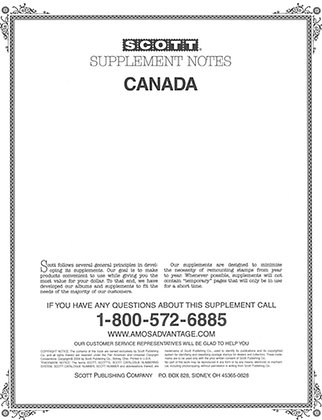 CAN-86	1986 Canada Supplement, 2-post only