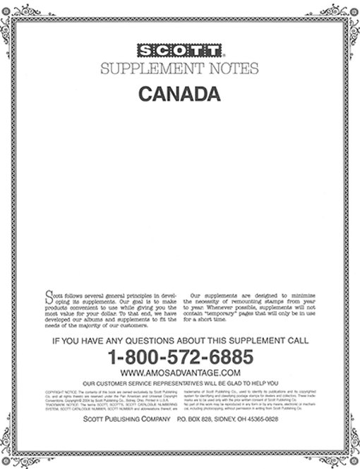 CAN-871987 Canada Supplement, 2-post only
