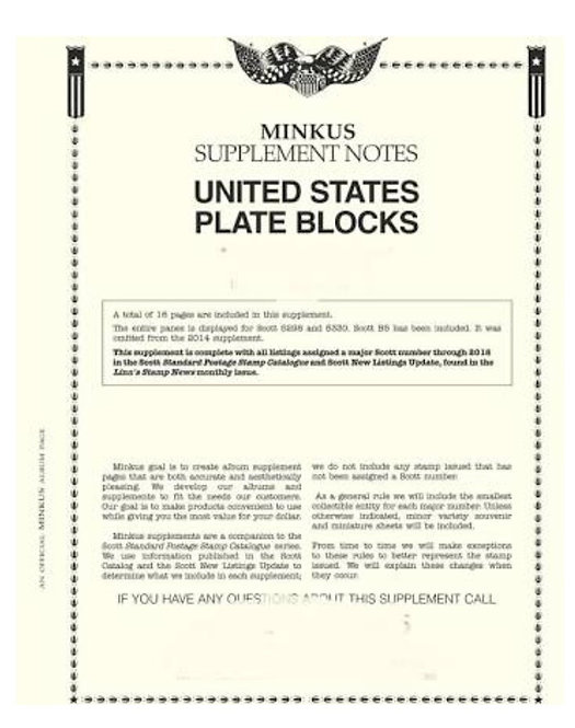 MK-PB10 2010 U.S. Plate Block Supplement