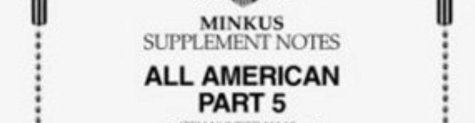 AA-16D:   2016 All-American Part 5 - US Sheetlets