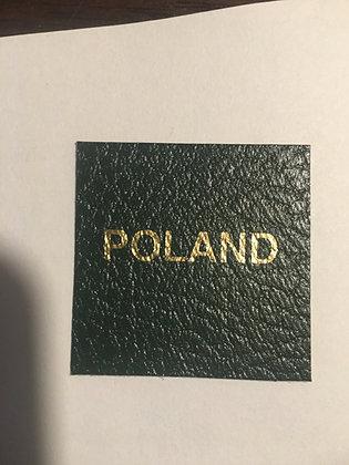"LB-046 Specialty Label: ""Poland"""