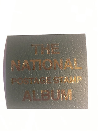 "LB-058   ""National"" label for Scott binders"