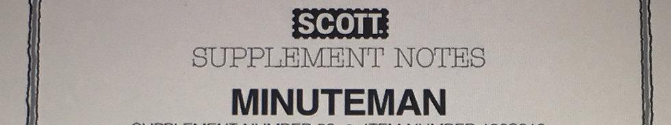 SMM-Z Scott Minuteman Blank Pages