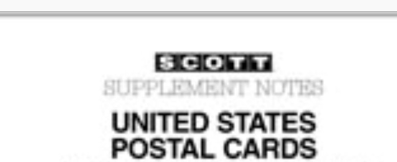 PCR-1980 Postal Card Supplement #5, 2-post only