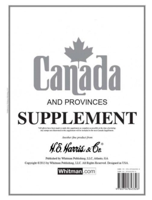 CA-17:2017 Harris Canada Album Supplement