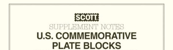 CP-82 1982 Scott U.S. Commemorative Plate Block Album Supplement, 2-post only