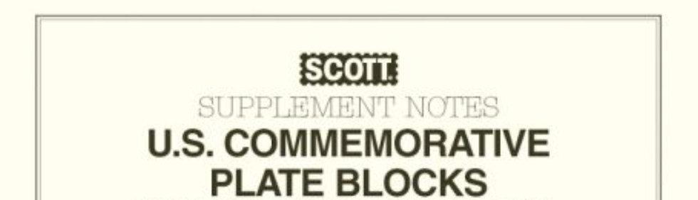 CP-02 2002 Scott U.S. Commemorative Plate Block Album Supplement