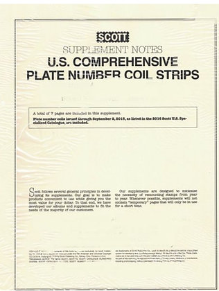 S-CPN94   1994 Comprehensive Plate Number Coil Strips #8