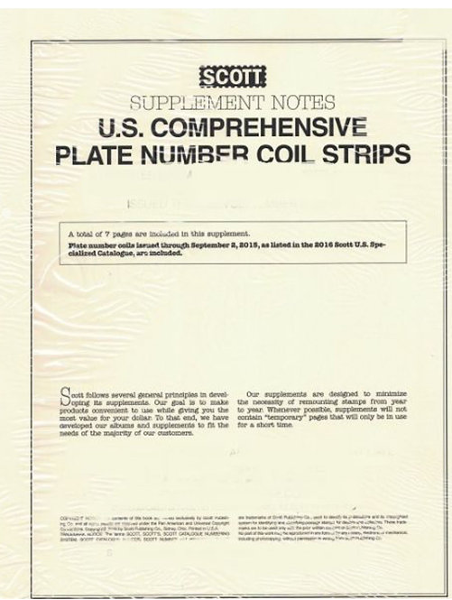 S-CPN16 2016 Comprehensive Plate Number Coil Strips #29