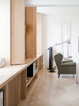 Wooden apartment