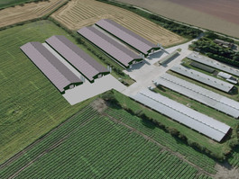 Southerland Farms Ltd - 2No Broiler Rearing Units - Permission Granted