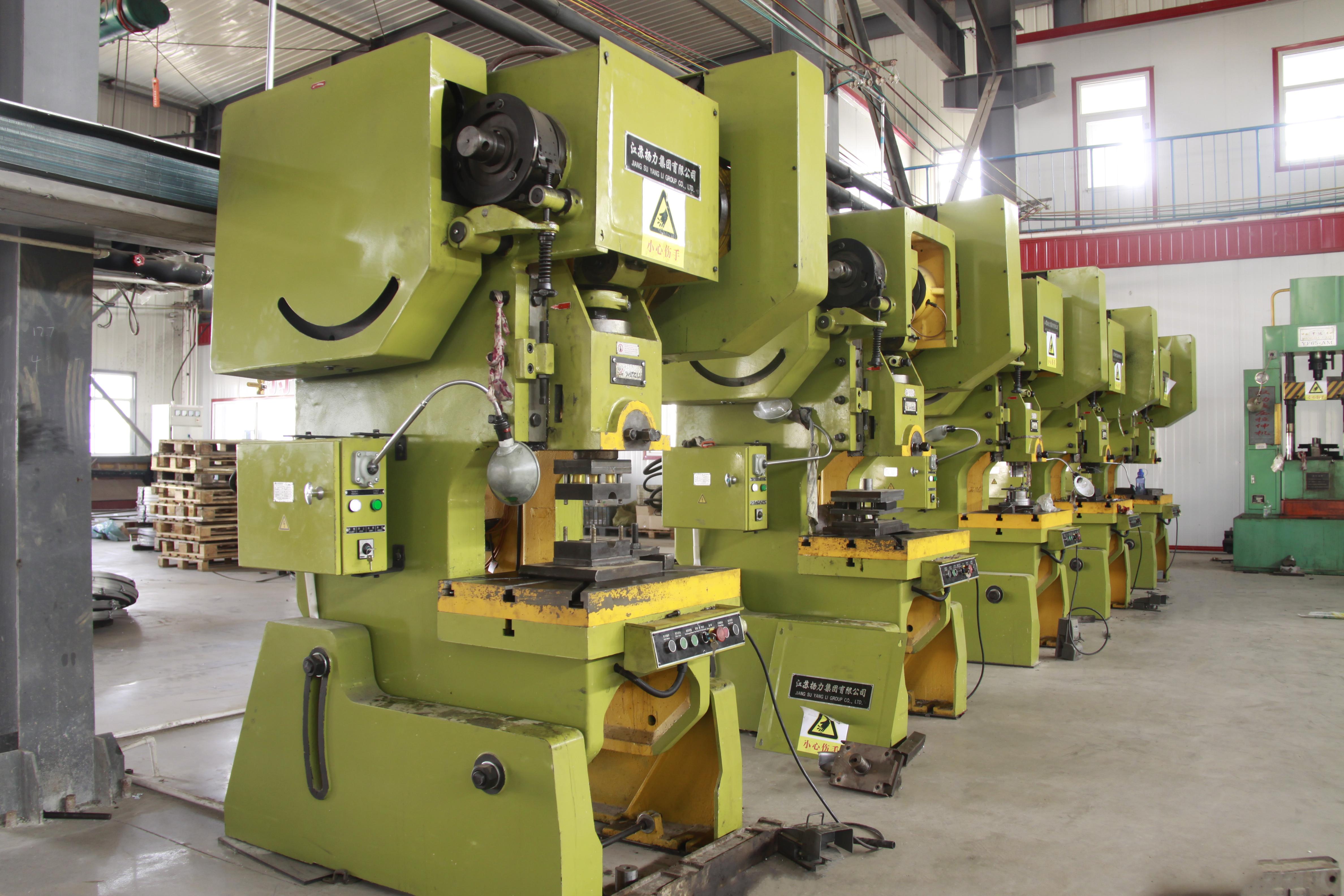 Progressive Stamping machines