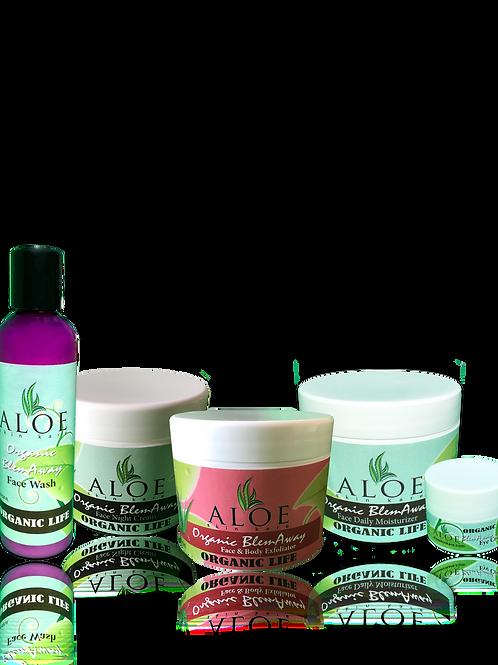 Organic BlemAway Anti-Aging Skin Care Set