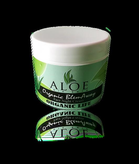 Aloe Organic Anti-Aging Face Night Cream
