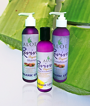 Aloe Organic Hair Set - Shampoo, Conditioner, Anti-Hair Loss Conditioner