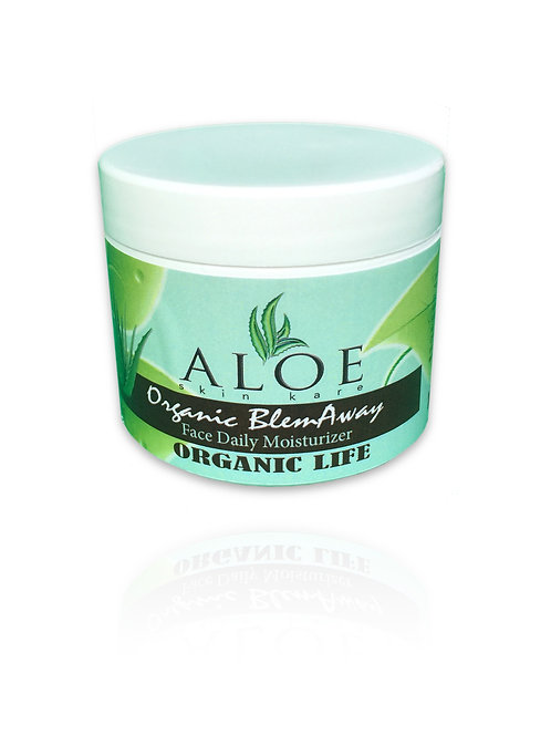 Aloe BlemAway Organic  Anti-Aging Face Daily Moisturizer