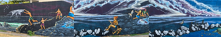 Enchanted Lake Mural Part 1