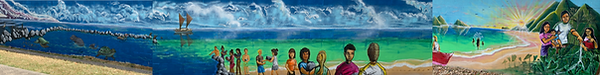 Enchanted Lake Mural Part 2