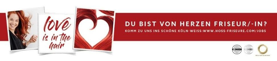 Friseurjobs im Team HairLounge byHOSS Köln