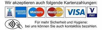 Kontaklos bezahlen in der HairLoune by HOSS in Köln Weiß