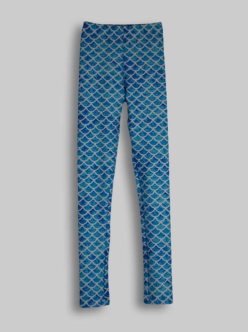 Asherah Blue Leggings