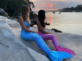 Fabric mermaid tails