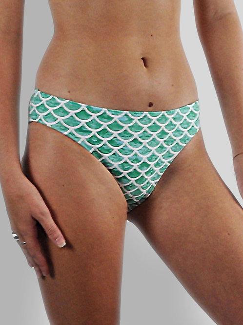 Sirena Green Bikini Bottoms