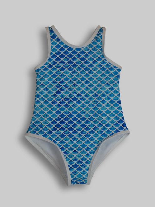 Asherah Blue One-Piece