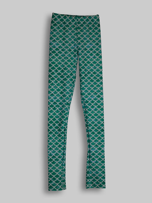 Sirena Green Leggings