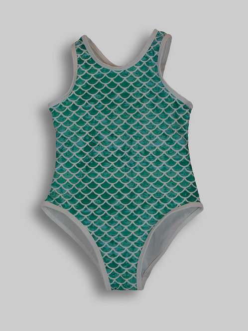 Sirena Green One-Piece