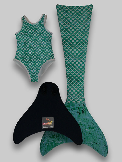 Sirena Mermaid Tail, Monofin & One-Piece