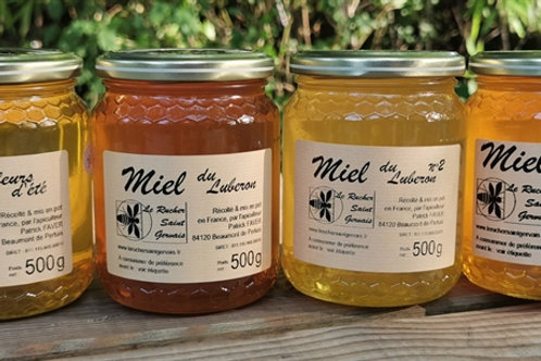 Miel d'automne - Le rucher de Saint Gervais
