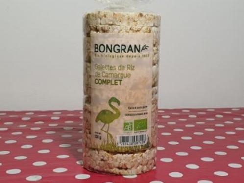 Galettes de riz complet de Camargue - Bongran