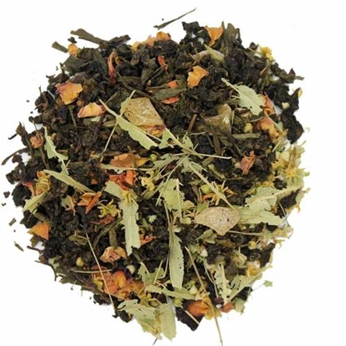 Thé oolong - pèche tonique - NATURE CELTIQUE