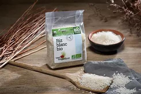 Riz blanc de Camargue - Vert Coquelicot