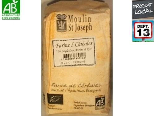 Farine 5 céréales - Moulin Saint Joseph