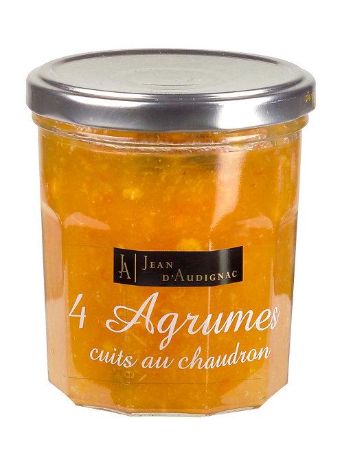 Confiture aux 4 agrumes JEAN D'AUDIGNAC