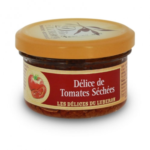 Crème de tomates séchées - Délices du Luberon