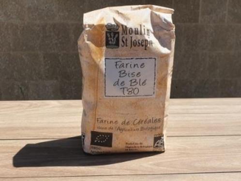 Farine de blé T80 - Moulin Saint Joseph